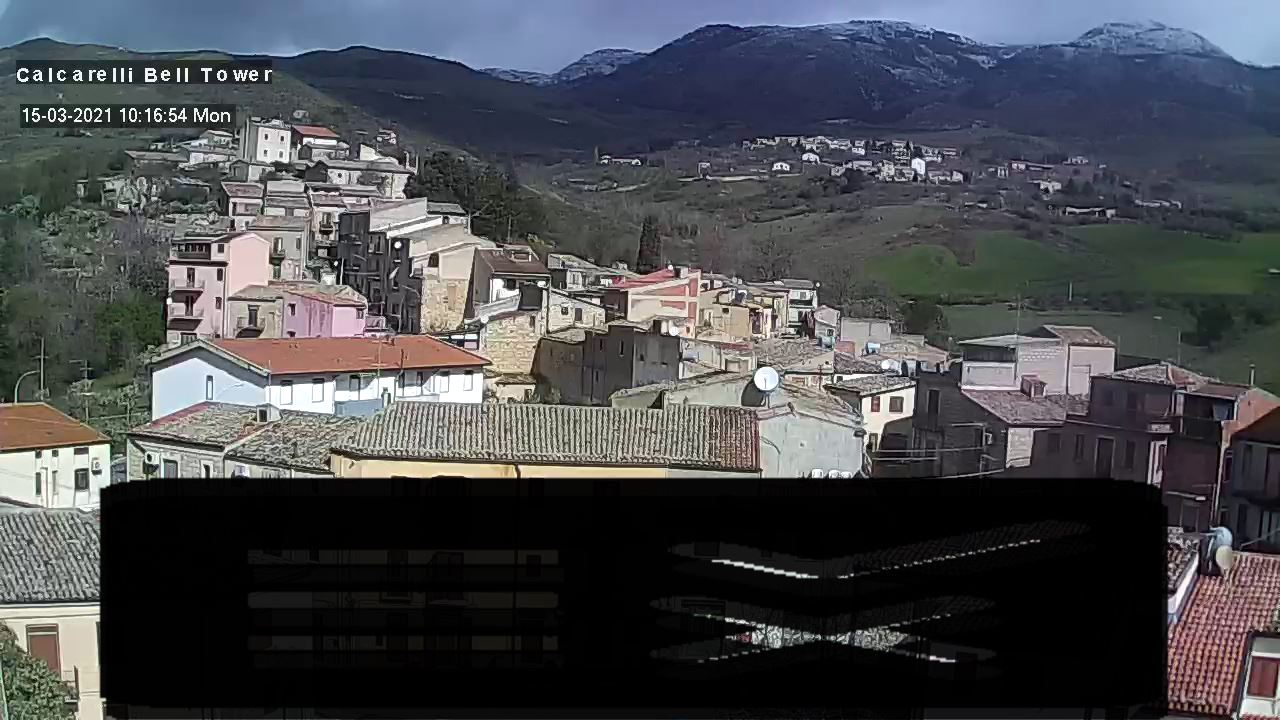 Webcam Calcarelli fraz. Castellana Sicula PA